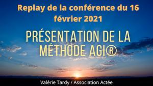 conférence méthode AGI® développement personnel